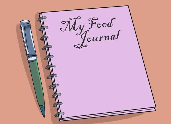Ведите дневник продуктов питания