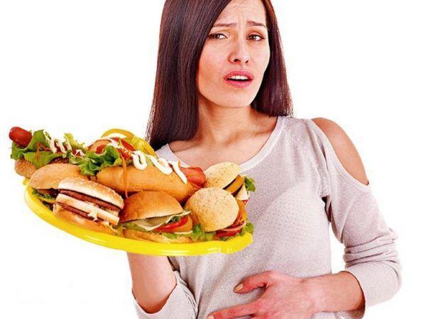 Воздержитесь от продуктов, перегружающих пищеварительную систему