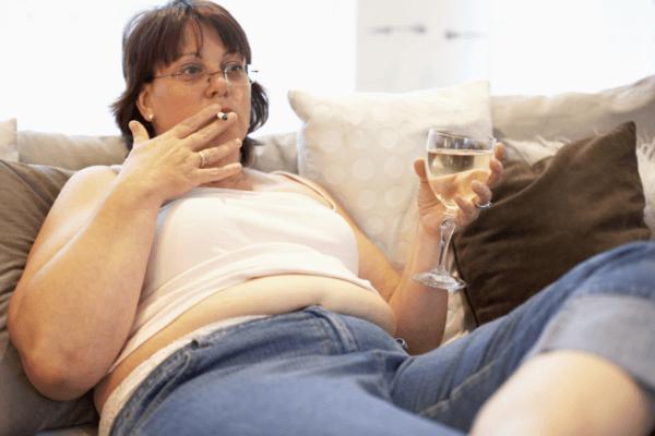 Вредные привычки пагубно отражаются на здоровье