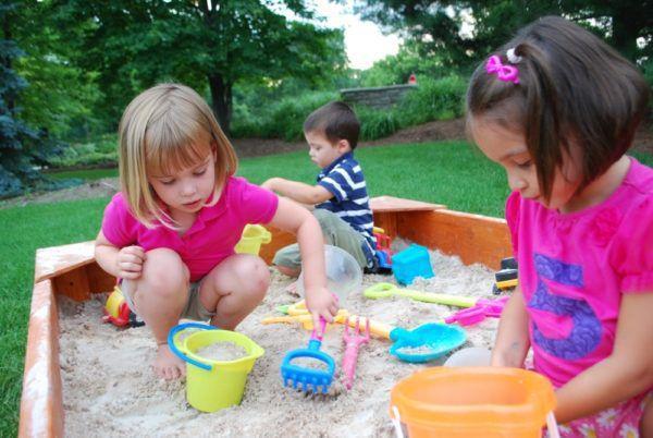 Заражение может произойти во время игры в песочнице