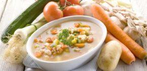 овощной кремообразный суп