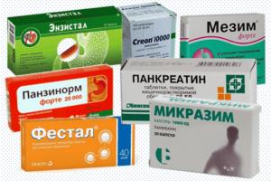 Ферментные препараты для лучшего переваривания пищи и ее усвоения