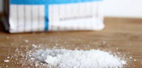 3 щепотки соли (1 г каждая)