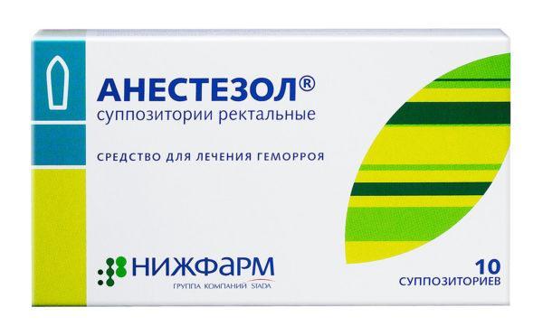 Анестезол оказывает вяжущее и противовоспалительное воздействие