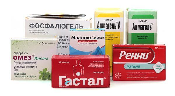Антациды необходимы для нейтрализации желудочной кислоты, они повышают терапевтическую эффективность ферментов