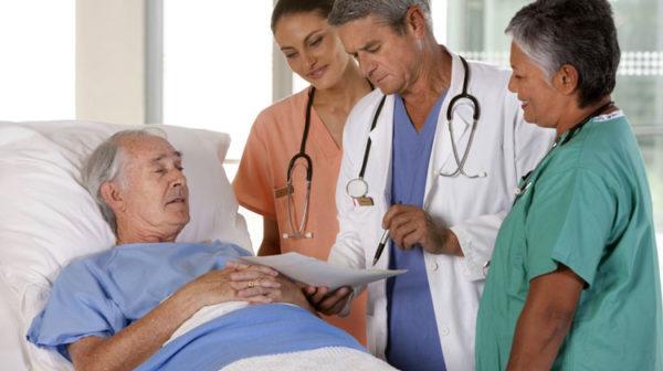 Больные часто жалуются на боли, слабость, тошноту