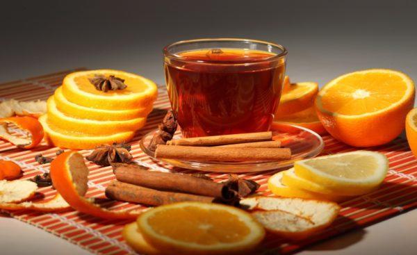 Чай с соком