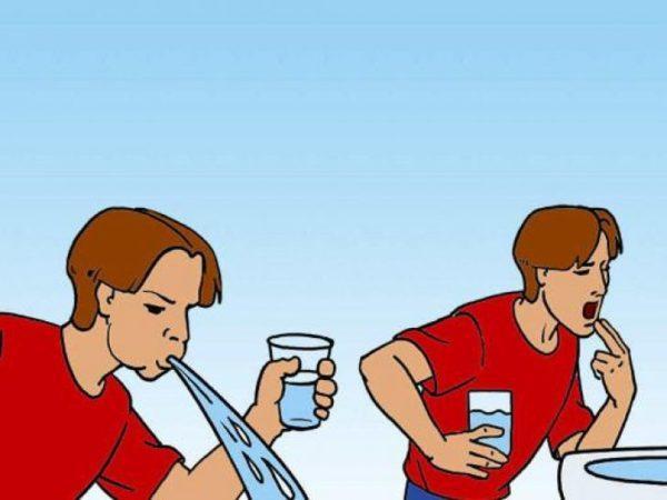 Как промывают желудок в домашних условиях