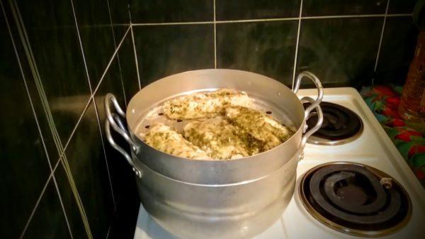 Лучше готовить пищу на пару