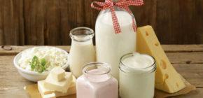 Любые кисломолочные продукты
