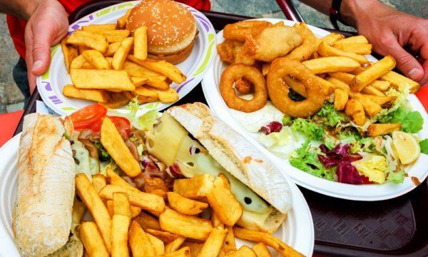 Много жареной и жирной пищи ежедневно употреблять вредно