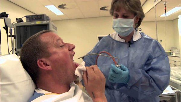 Обычно исследование гастроскопом обезболивание анестетиком