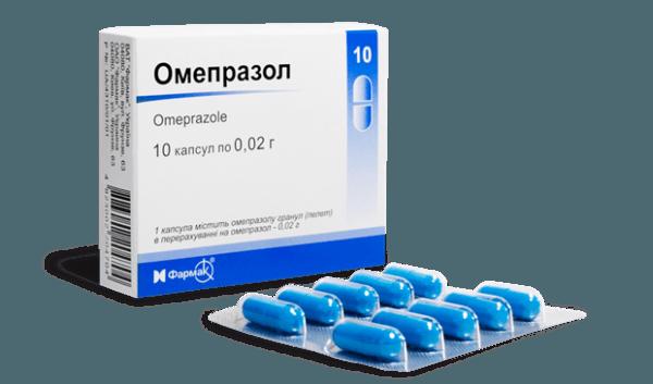 Омепразол заметно снижает активность соляной кислоты и позволяет начать регенерацию тканей желудка и двенадцатиперстной кишки