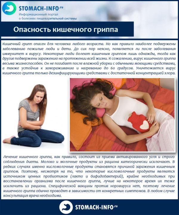 Опасность кишечного гриппа