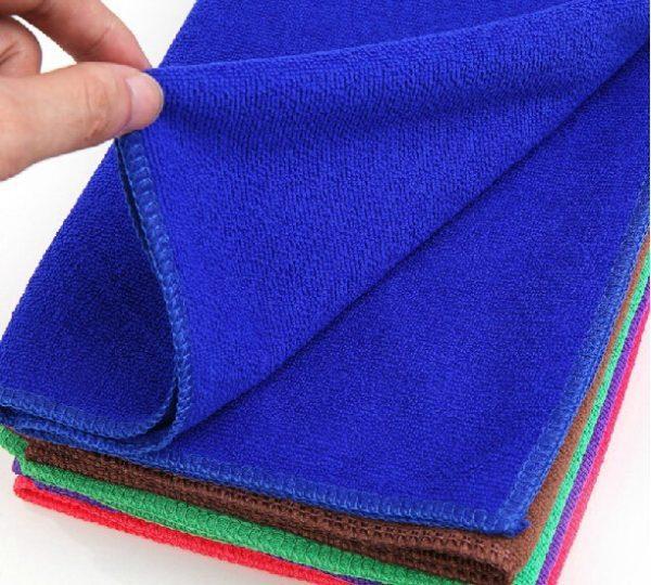 Понадобится небольшое чистое полотенце