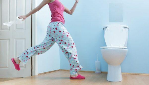 При диарее нельзя терпеть и сдерживаться