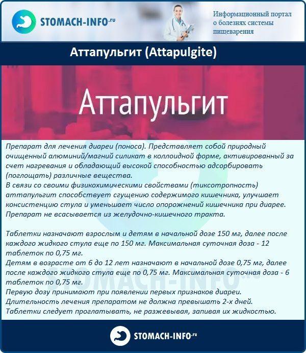 Аттапульгит (Attapulgite)