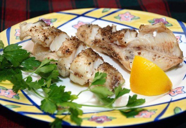 Рыба, приготовленная на пару