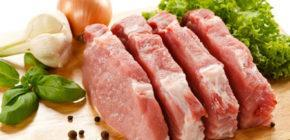 Свежая говядина, баранина, свинина, 100 г