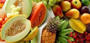 Свежие, сушеные, консервированные фрукты