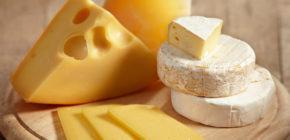 Сыр, 1 ломтик (30 г)