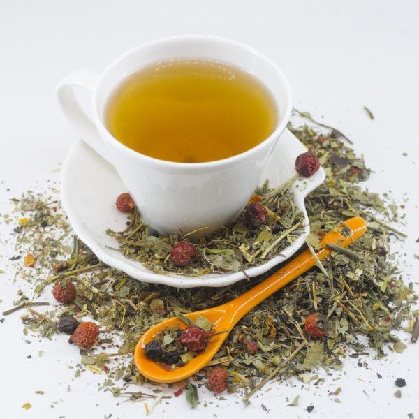 Травяной чай можно пить с медом