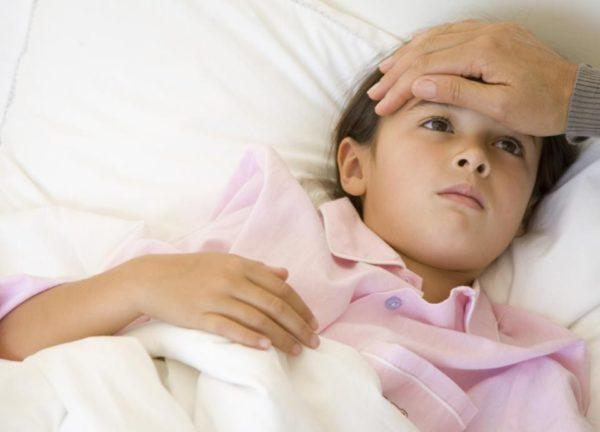 У ребёнка понос и высокая температура