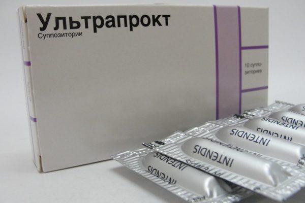 Ультрапрокт оказывает быстрое противоаллергическое воздействие, снимает зуд и боль