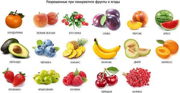 Витаминизировать рацион помогут разрешенные фрукты и ягоды