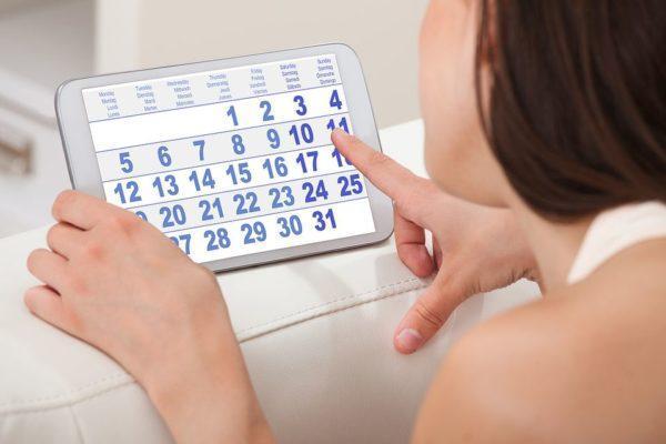 Женщины должны выбирать подходящий день для обследования