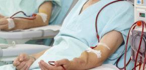 Заболевания почек и больные на диализе