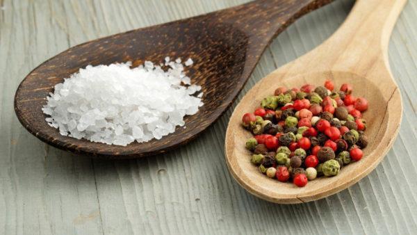 Замените соль на специи