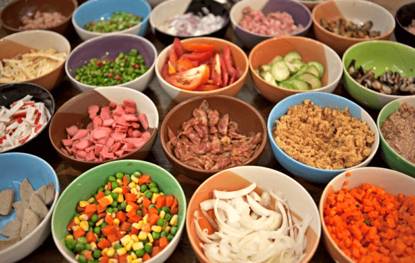 Раздельное питание нормализует пищеварение