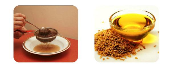 Если нет возможности приобрести льняное масло или нет времени на приготовление, можно заменить его запаренными семенами льна