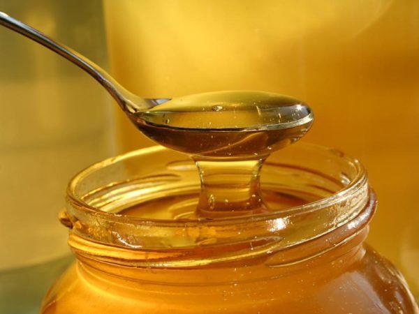 Мед успокаивающе действует на стенки пищевода и устраняет симптомы изжоги
