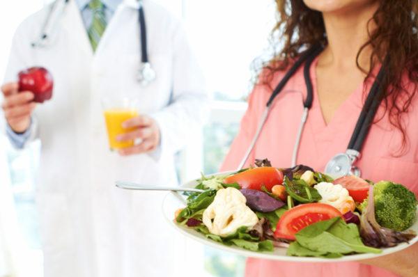 Диетическое лечение применяется только после его согласования с врачом-диетологом