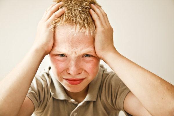 Детские головные боли