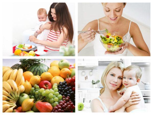 Как питание кормящей мамы влияет на самочувствие новорожденного