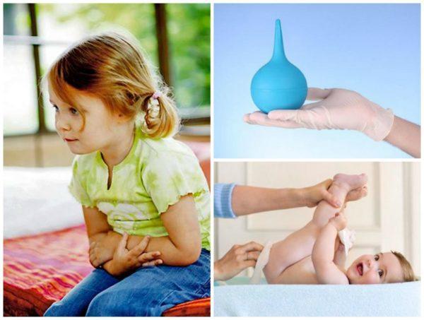 Как сделать ребенку клизму в домашних условиях