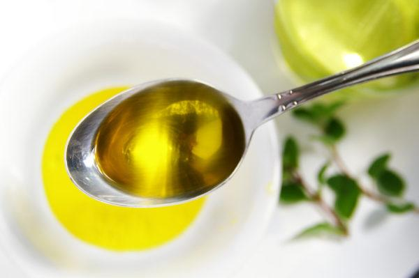 Ложка растительного масла