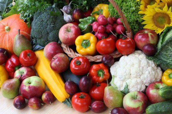 Объем растительной пищи должен составлять примерно 60 % от употребляемых за день продуктов