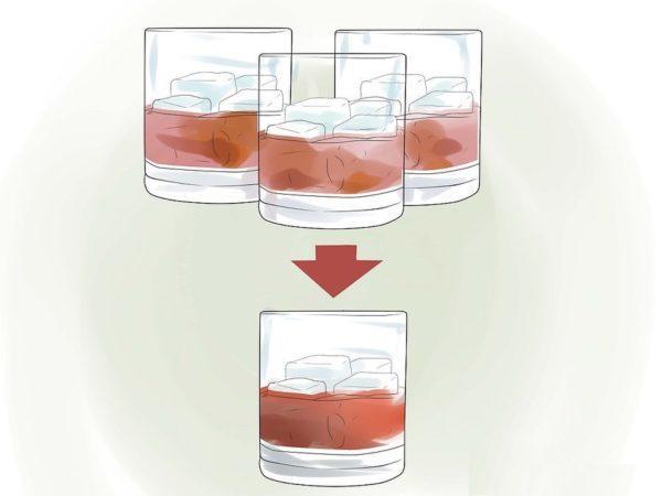 Уменьшите потребление алкогольной продукции