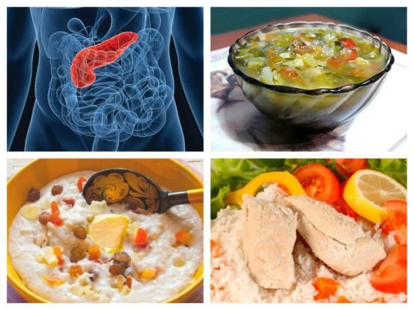 Питание при панкреатите: список продуктов