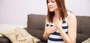 Изжога при беременности в третьем триместре: причины