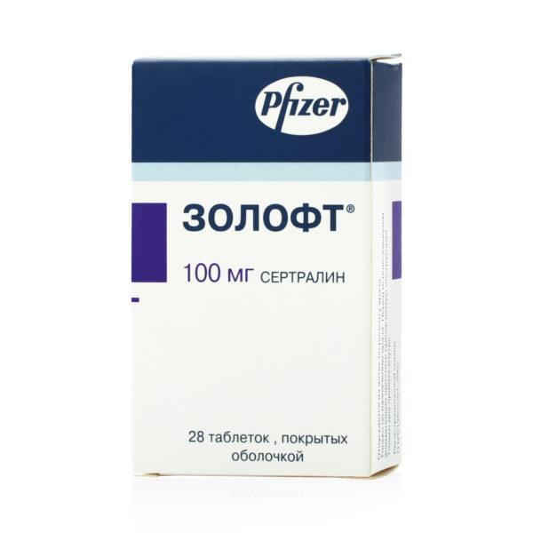 «Золофт», 100 мг