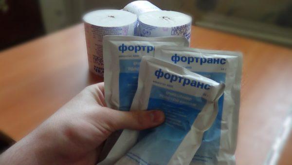 «Фортранс» дает возможность комфортного очищения кишечника