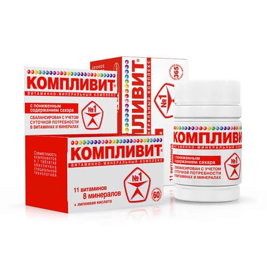 """Не рекомендуется использовать Компливит"""" одновременно с другими препаратами, содержащими витамины и минералы"""