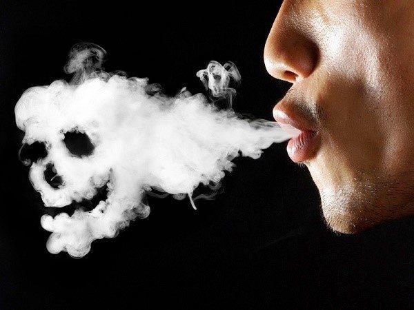Лучшая профилактика загрязнения организма - отказ от вредной привычки