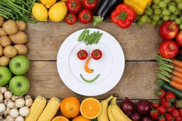 Недостаточное потребление овощей и фруктов