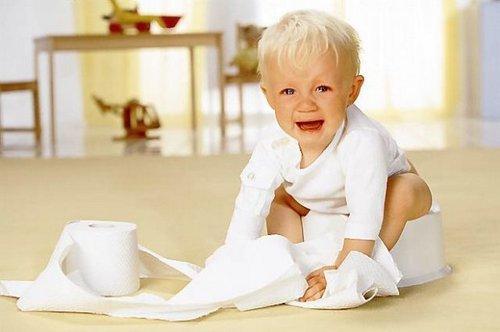 При дизентерии ребенку больно ходить в туалет
